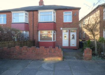 Thumbnail 3 bedroom flat for sale in St Albans Crescent, North Heaton, Newcastle Upon Tyne