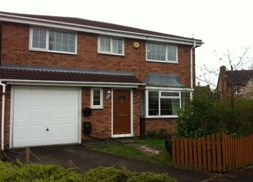 Thumbnail 3 bed property to rent in Burdons Close, Birmingham