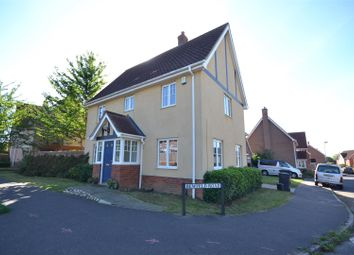 Thumbnail 3 bed detached house for sale in Bewfeld Road, Norwich