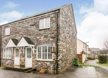 Thumbnail 2 bed semi-detached house for sale in Bodmin, Cornwall