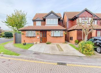 Thumbnail 5 bedroom detached house for sale in Girton Court, Cheshunt, Waltham Cross