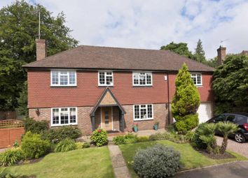 Thumbnail 5 bed detached house to rent in Kingswood Close, Weybridge