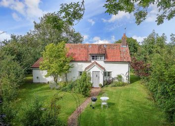 Thumbnail 2 bed cottage for sale in The Green, Hunston, Bury St. Edmunds