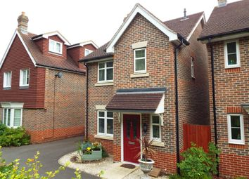 Thumbnail 3 bedroom link-detached house for sale in Tithing Road, Fleet