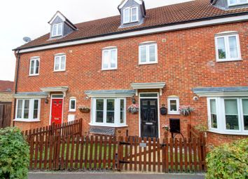 Thumbnail 4 bed terraced house for sale in Robins Crescent, Witham St. Hughs, Lincoln