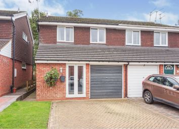 Thumbnail 3 bed semi-detached house for sale in Barrow Close, Redditch