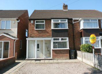 Thumbnail 3 bed semi-detached house for sale in Elmstead Avenue, Sheldon, Birmingham