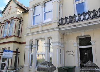 Thumbnail 3 bed flat to rent in Connaught Avenue, Plymouth, Devon