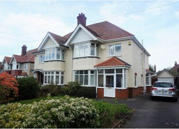 Thumbnail 4 bed semi-detached house for sale in Wilton Road, Southampton