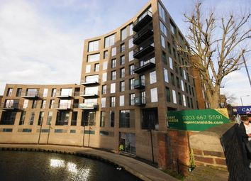 Thumbnail 1 bed flat to rent in Regents Canalside, Camden Road, London