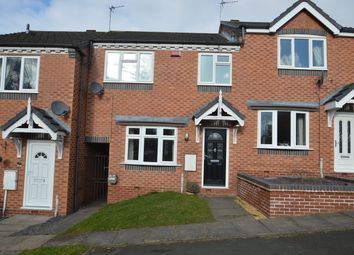 Thumbnail 3 bed terraced house to rent in Hodson Way, Heath Hayes Cannock