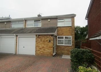 Thumbnail 3 bed semi-detached house for sale in Longway Avenue, Whitchurch, Bristol