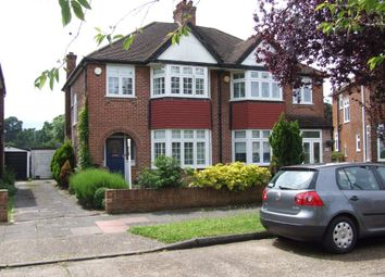 Thumbnail 3 bed semi-detached house for sale in Empress Drive, Chislehurst
