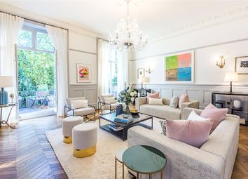 Thumbnail 3 bed flat for sale in Leinster Square, London