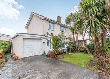 Thumbnail 3 bed semi-detached house for sale in Pendrea Park, North Roskear, Camborne