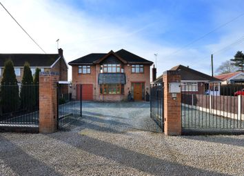Thumbnail 3 bed detached house for sale in Wellow Road, Ollerton, Newark