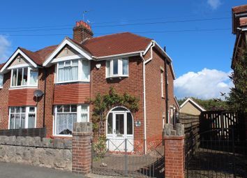 Thumbnail 3 bed semi-detached house for sale in Min Y Don Avenue, Colwyn Bay