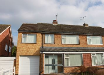 Thumbnail 4 bed semi-detached house to rent in Turner Rise, Oadby