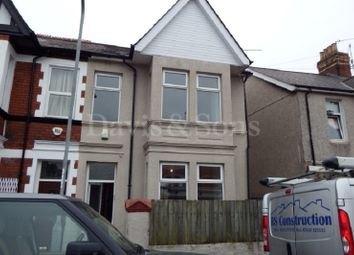 Thumbnail 4 bed semi-detached house for sale in Marlborough Road, Newport, Gwent.