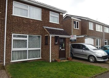 Thumbnail 3 bed semi-detached house for sale in Birch Farm Way, Northamptin