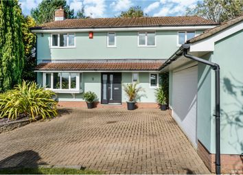 Thumbnail 4 bed detached house for sale in Llantrisant Road, Pontyclun