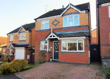 Thumbnail 3 bed detached house for sale in Debdale Avenue, Worcester