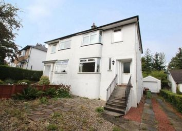 Thumbnail 3 bed semi-detached house for sale in Robslee Road, Orchard Park, East Renfrewshire