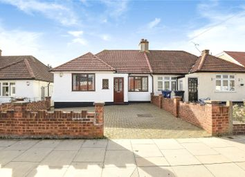 Thumbnail 2 bed semi-detached bungalow for sale in Bengarth Road, Northolt, Middlesex