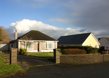 Thumbnail 4 bed detached bungalow for sale in Pill Road, Hook, Haverfordwest