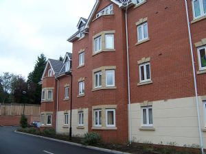 Thumbnail 1 bed flat to rent in Southfield Road, Burbage, Hinckley