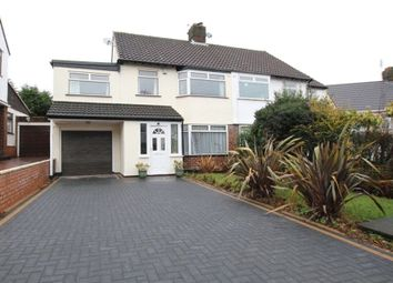 Thumbnail 4 bed semi-detached house for sale in Cambrian Way, Woolton, Liverpool