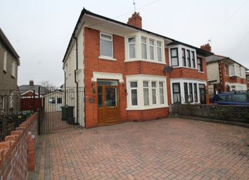 Thumbnail 3 bed semi-detached house for sale in Norton Avenue, Heath, Cardiff