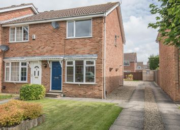 Thumbnail 2 bed town house for sale in Orrin Close, Woodthorpe, York