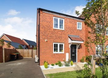 Thumbnail 3 bed semi-detached house for sale in Lacewing Drive, Biddenham, Bedford