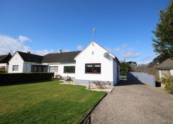 Thumbnail 2 bed semi-detached bungalow for sale in 40 Laggan Road, Lochardil, Inverness.
