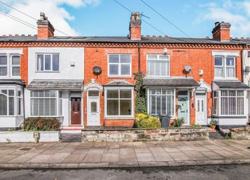 Thumbnail 2 bed terraced house to rent in Hampton Court Road, Harborne, Birmingham