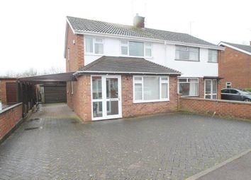 Thumbnail 2 bed semi-detached house for sale in Carrant Road, Tewkesbury