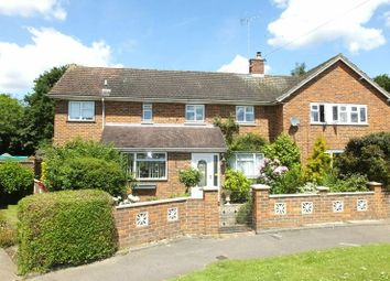 Thumbnail 4 bed semi-detached house for sale in Queen Elizabeth Way, Woking