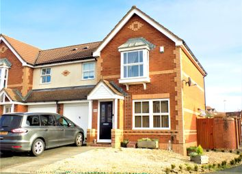 Thumbnail 3 bed semi-detached house for sale in Highdown Way, Swindon