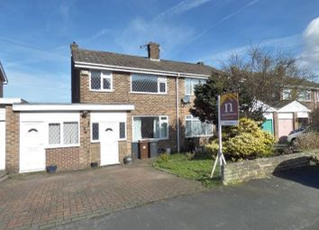 Thumbnail 4 bed semi-detached house for sale in Simons Close, Glossop