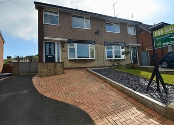 Thumbnail 4 bed semi-detached house for sale in Southwood Drive, Accrington
