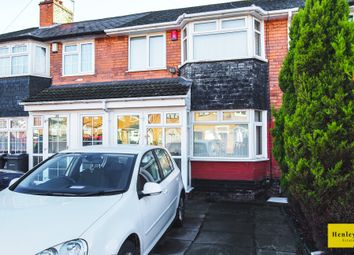 Thumbnail 3 bed terraced house for sale in Farcroft Grove, Handsworth, Birmingham
