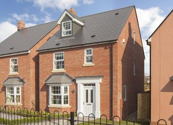 "Thumbnail 4 bedroom detached house for sale in ""Bayswater"" at Pinn Hill, Pinhoe, Exeter"
