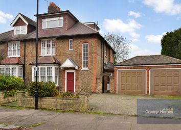 Thumbnail 4 bed semi-detached house for sale in Queen Annes Gardens, Bush Hill Park
