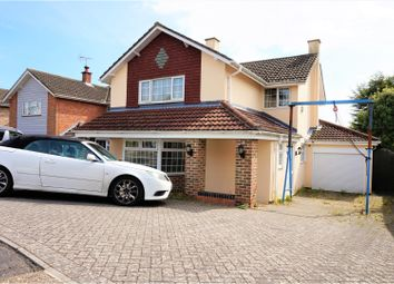 Thumbnail 4 bed detached house for sale in Miller Drive, Fareham