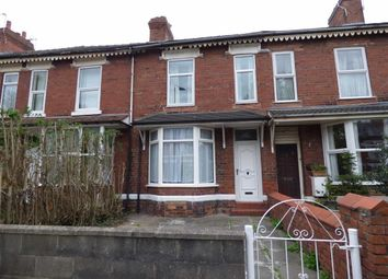 Thumbnail 3 bedroom terraced house for sale in Ruskin Road, Crewe