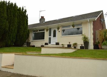 Thumbnail 4 bed semi-detached bungalow for sale in Cilonnen Road, Three Crosses, Swansea