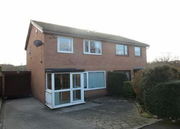 Thumbnail 3 bed semi-detached house for sale in Darwen View, Walton Le Dale, Preston