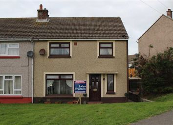 Thumbnail 3 bed semi-detached house for sale in John Lewis Street, Hakin, Milford Haven