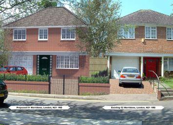 Thumbnail Land for sale in Landra Gardens (Merridene), Grange Park, London